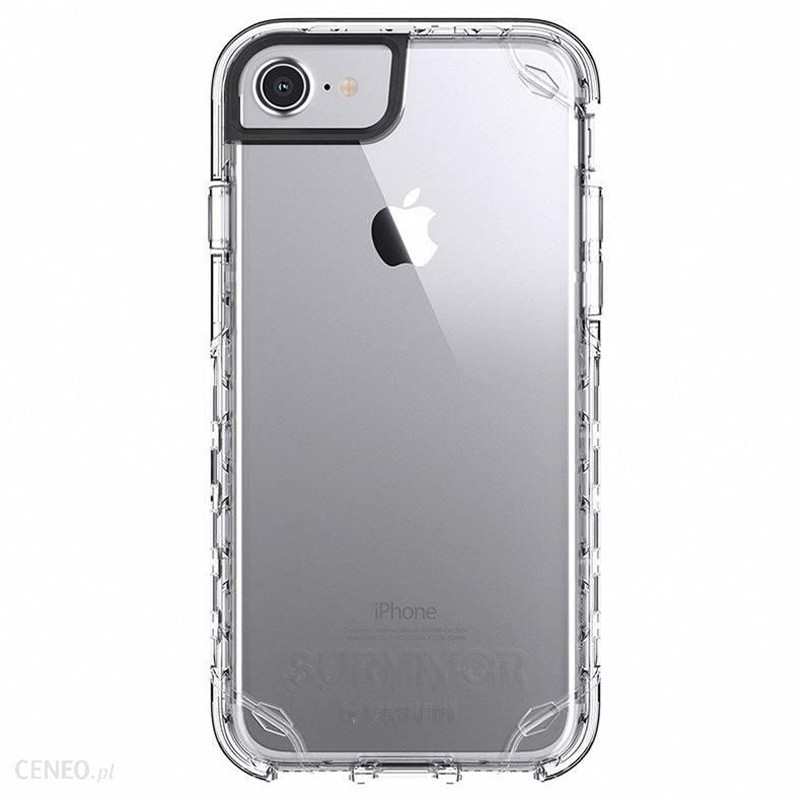 Griffin Survivor Strong iPhone 8/7/6S/6 Transparant 01