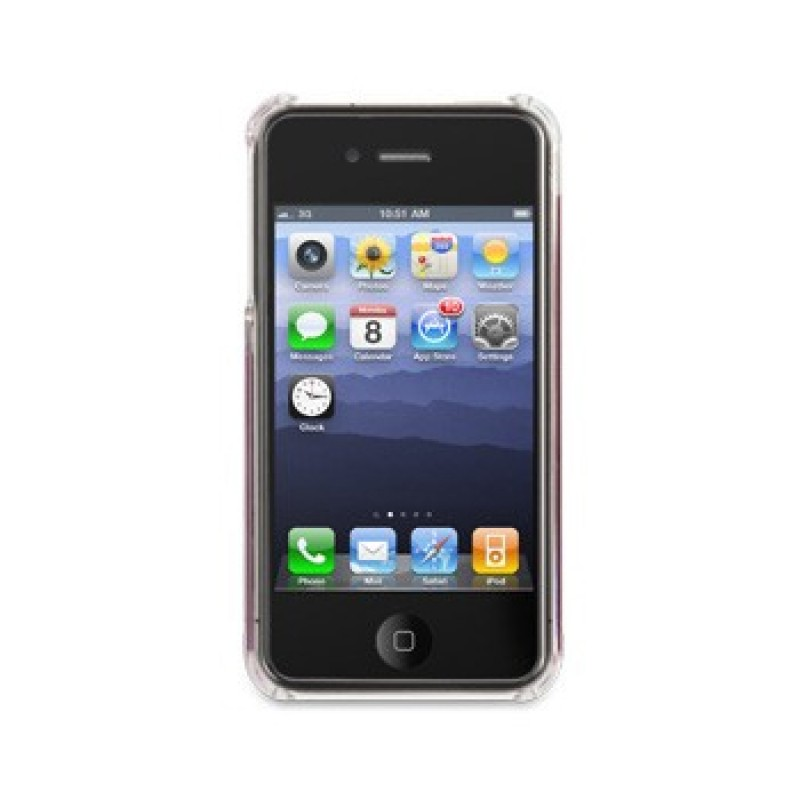 Griffin Elan Form Flight iPhone 4(S) Pink - 2