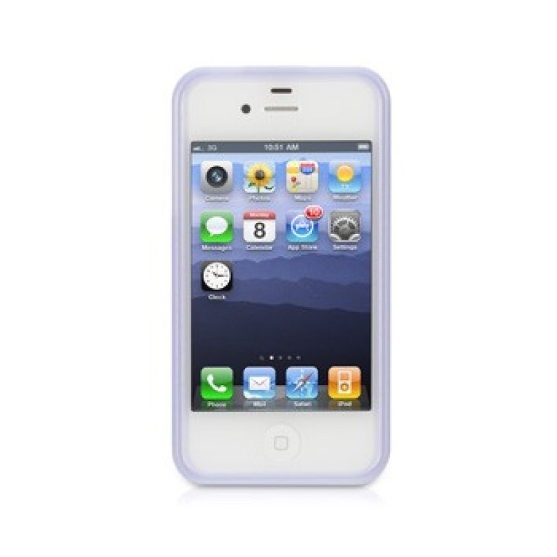 Griffin iClear Air iPhone 4(S) Lavendel - 2