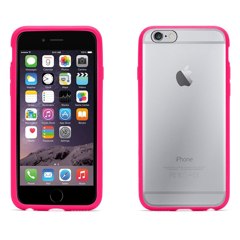 Griffin Reveal iPhone 6 Pink/Clear - 3