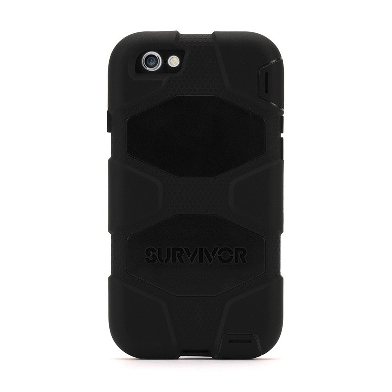 Griffin Survivor Extreme Duty Case iPhone 6 Black - 2