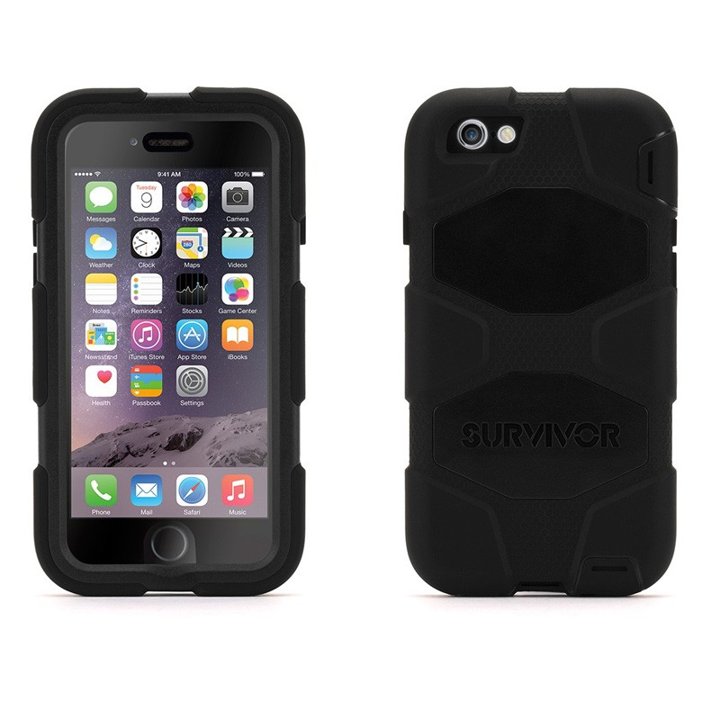 Griffin Survivor Extreme Duty Case iPhone 6 Black - 3
