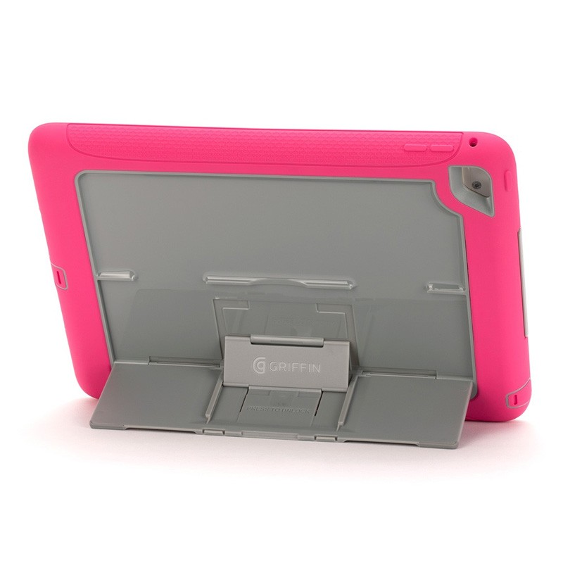 Griffin Survivor Slim iPad Air 2 Pink/Grey - 3