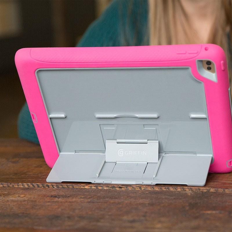 Griffin Survivor Slim iPad Air 2 Pink/Grey - 4