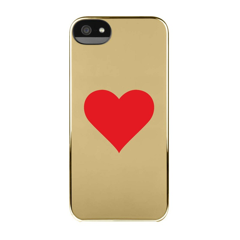 Incase Hearts Snap Case iPhone 5/5S Gold - 2