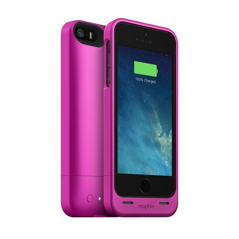 Mophie Juice Pack Helium iPhone 5/5S Pink - 1