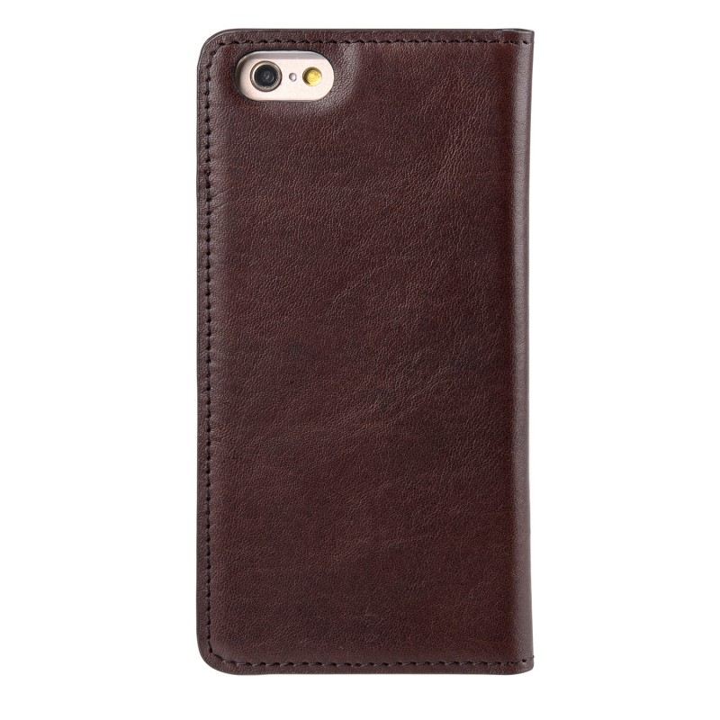Mekco Herman Wallet Case iPhone 6/6S Dark Brown - 2