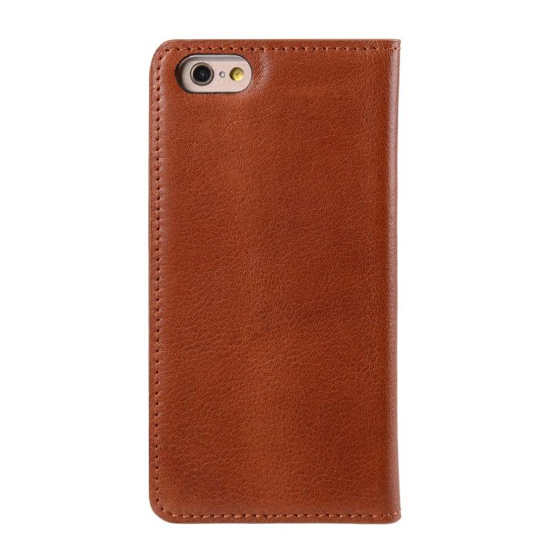 Mekco Herman Wallet Case iPhone 6/6S Tan Brown - 1