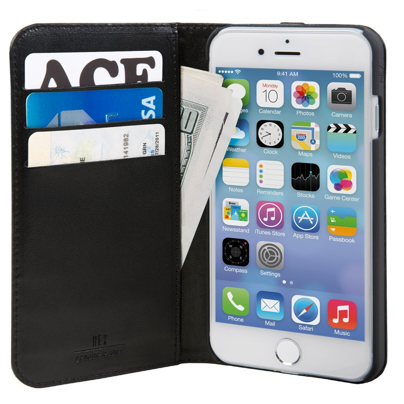 Hex Icon Wallet iPhone 7 Black - 3