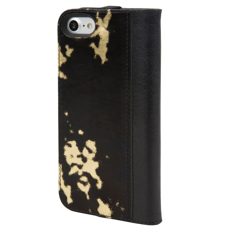 Hex Icon Wallet iPhone 7 Black/Gold - 2