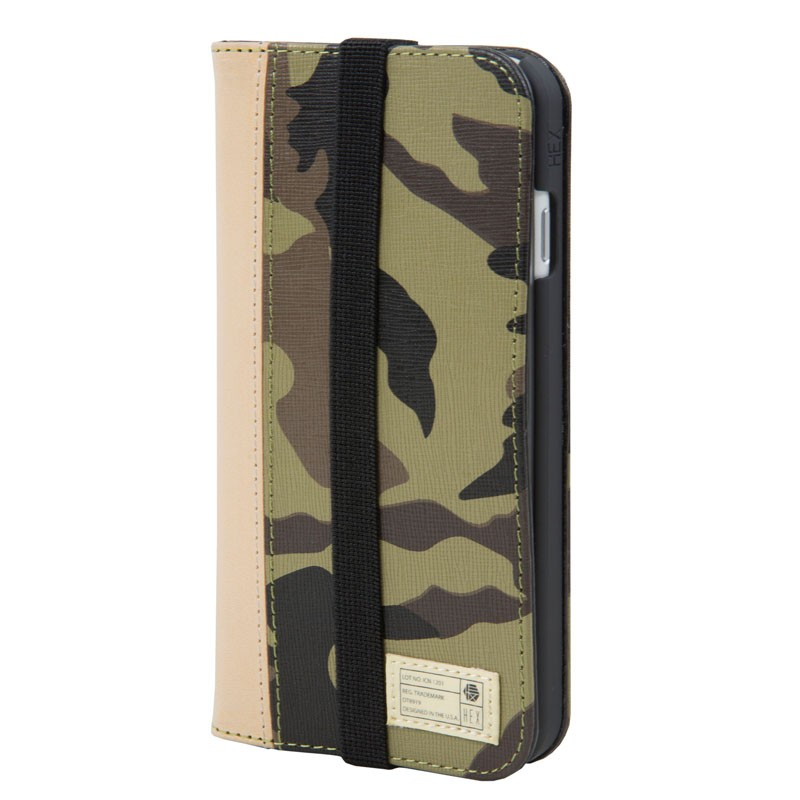 Hex Icon Wallet iPhone 7 Camouflage - 1