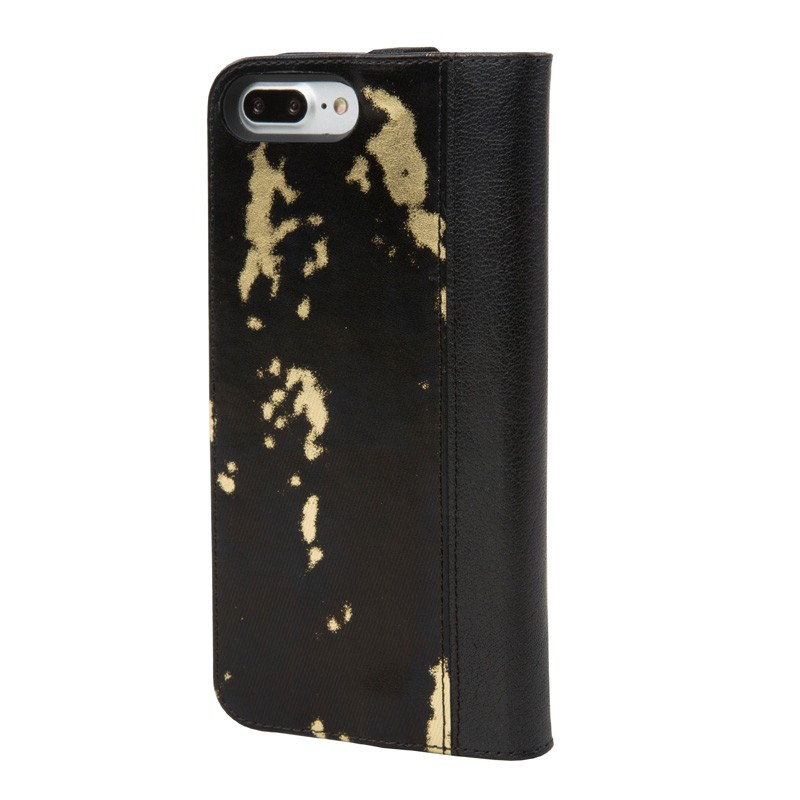 Hex Icon Wallet iPhone 7 Plus Black/Gold - 2
