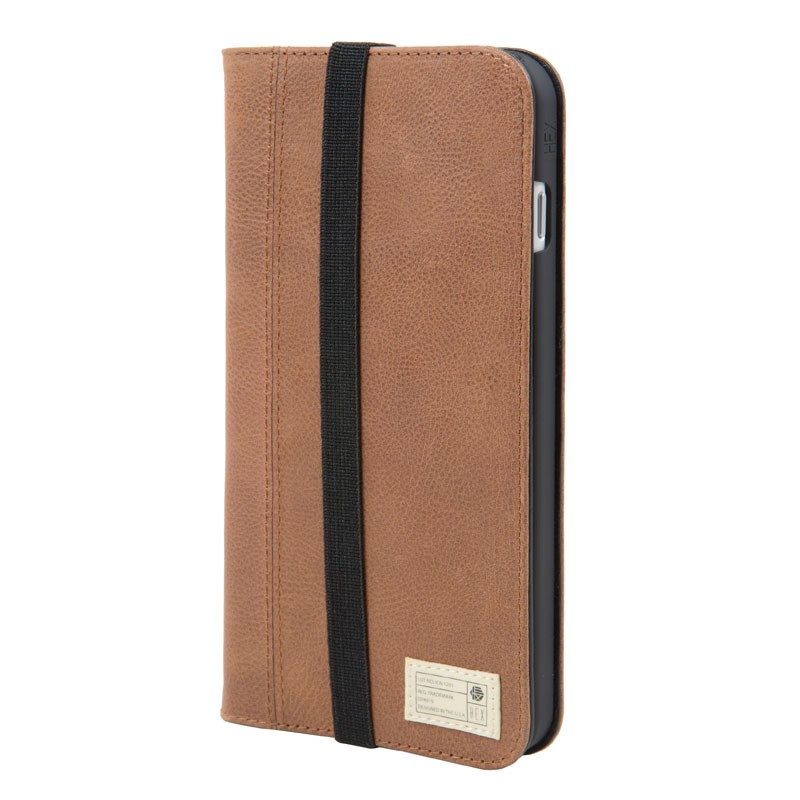 Hex Icon Wallet iPhone 7 Plus Brown - 1
