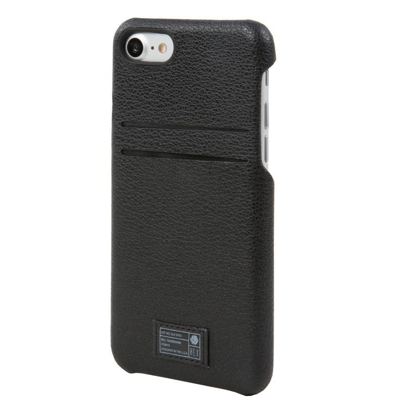 Hex Solo Wallet iPhone 7 Black - 2