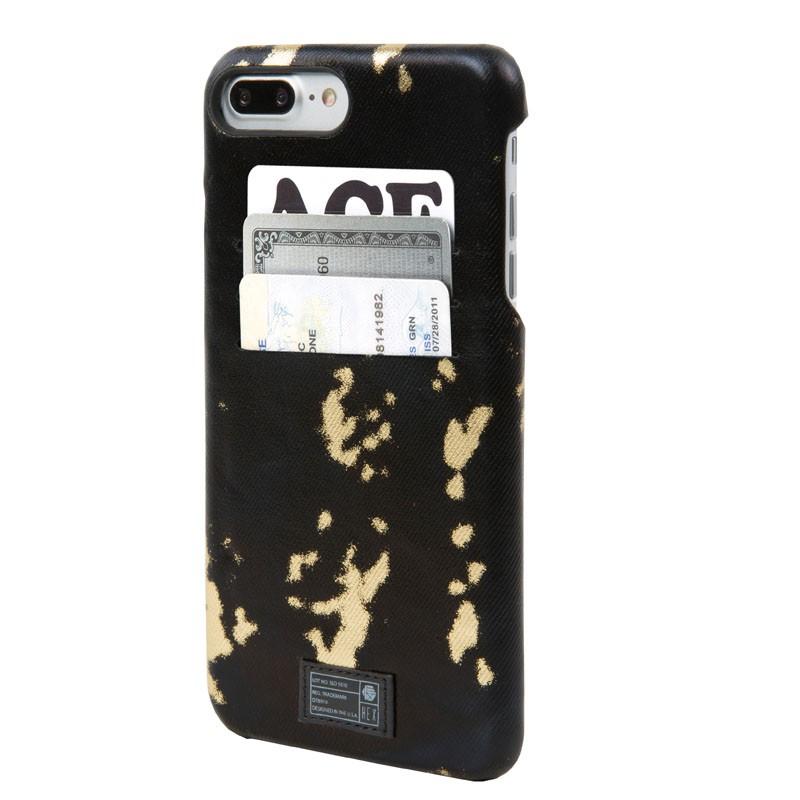 Hex Solo Wallet iPhone 7 Plus Hoesje Black/Gold - 1