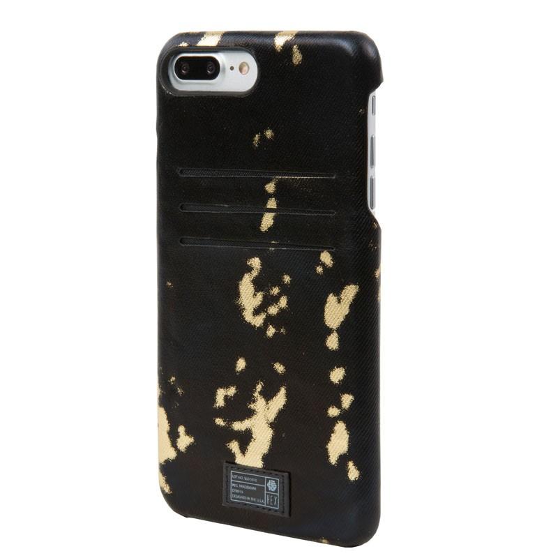 Hex Solo Wallet iPhone 7 Plus Hoesje Black/Gold - 2