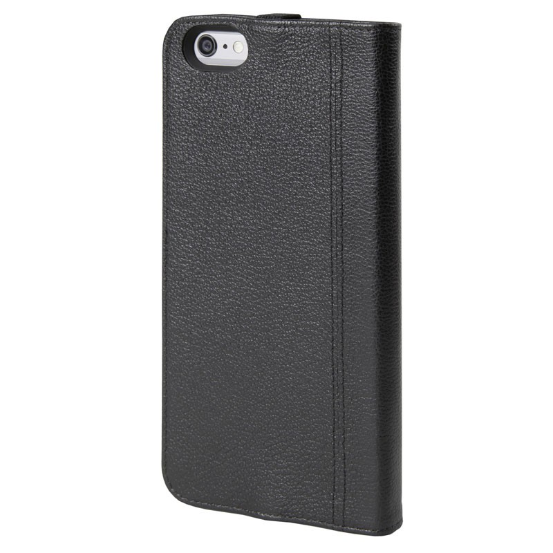 HEX Icon Wallet Case iPhone 6 Plus Black Pebbled - 2