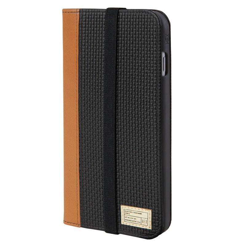 HEX Icon Wallet Case iPhone 6 Plus Black Woven - 1