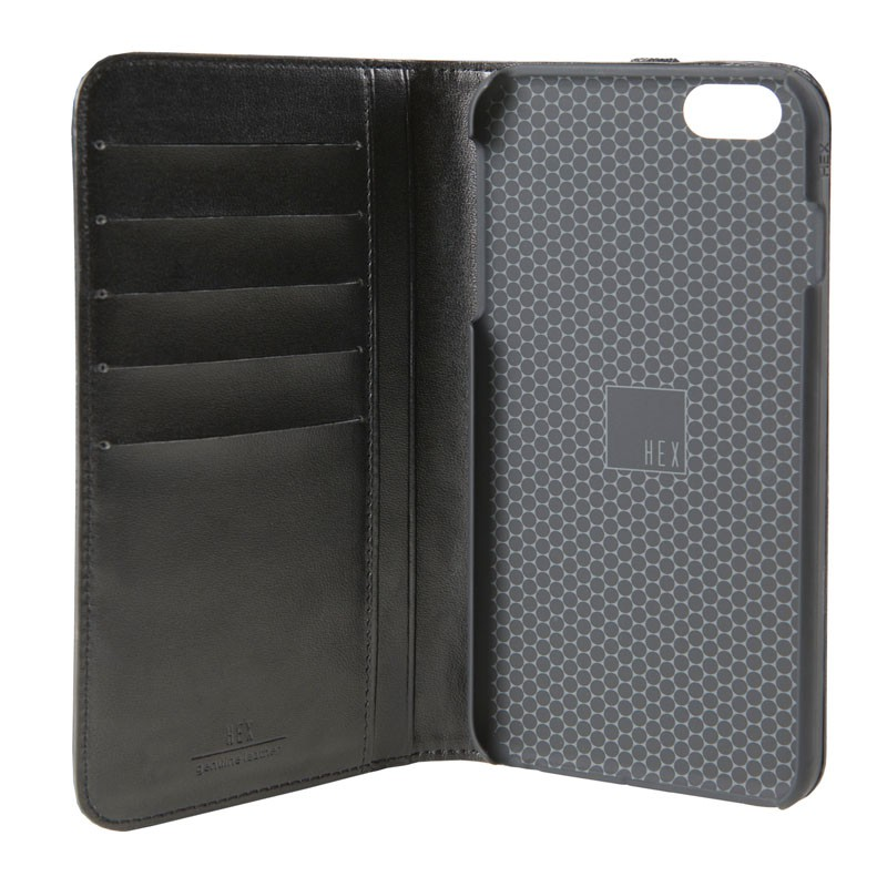 HEX Icon Wallet Case iPhone 6 Plus Black Woven - 4