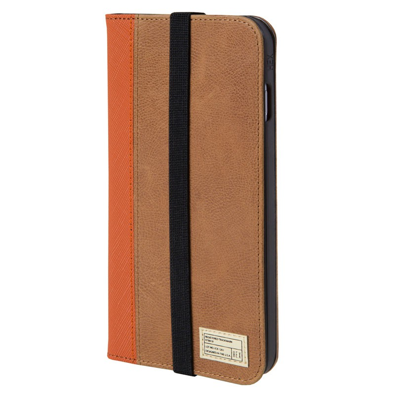 HEX Icon Wallet Case iPhone 6 Plus Dressed Brown - 1