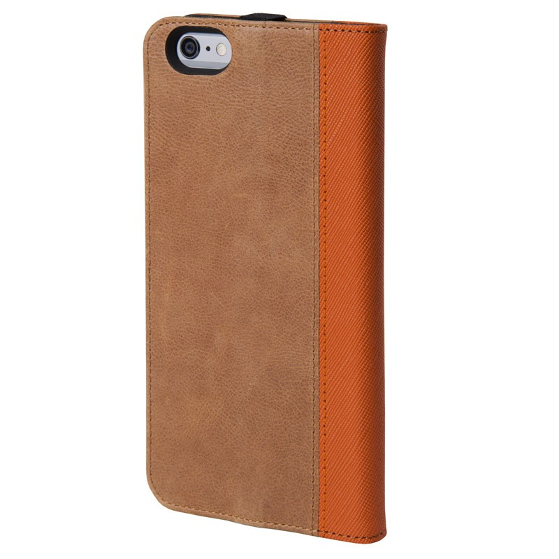 HEX Icon Wallet Case iPhone 6 Plus Dressed Brown - 2