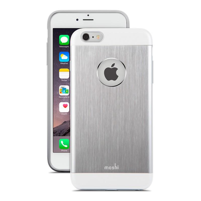 Moshi iGlaze Armour iPhone 6 Silver - 1