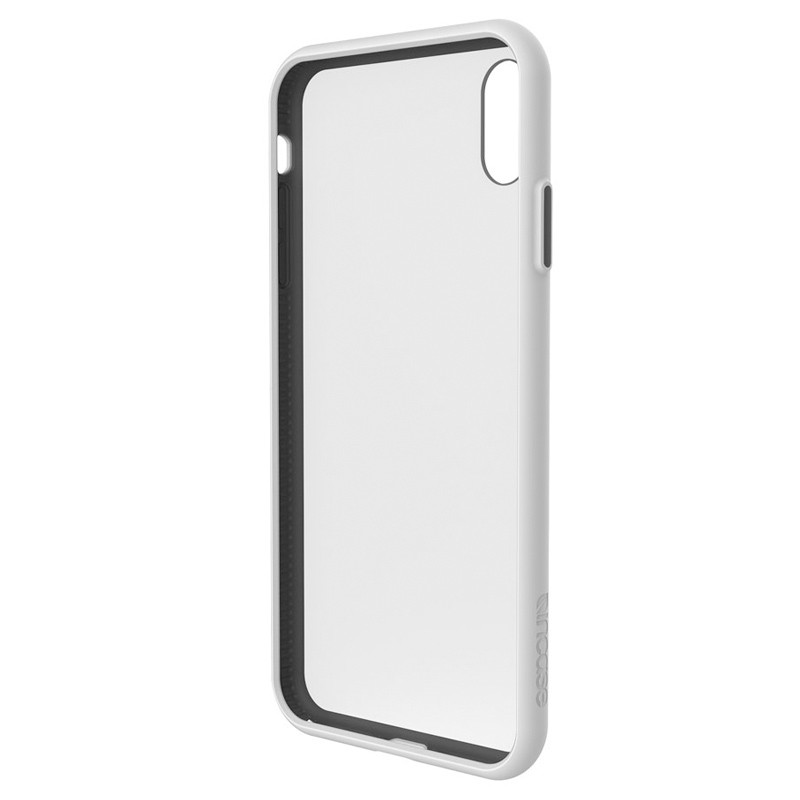 Incase Pop Case II iPhone XS Max Hoesje Wit / Transparant 03