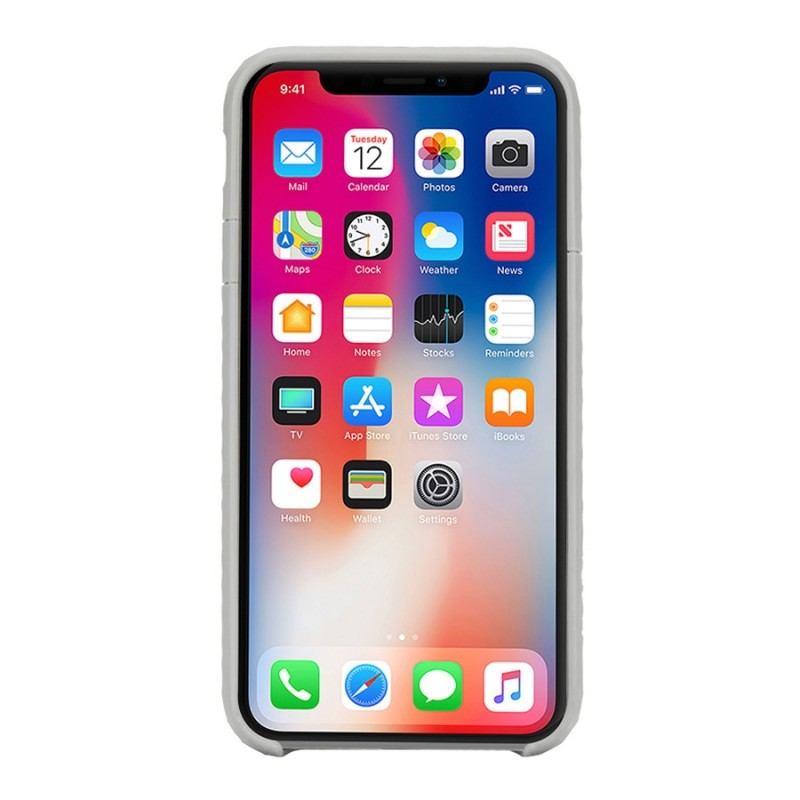 Incase Pop Case iPhone X/Xs Grijs/Transparant - 4