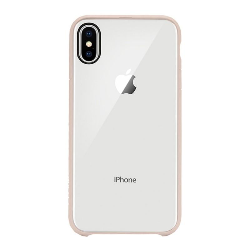 Incase Pop Case iPhone X/Xs Roze/Transparant - 1