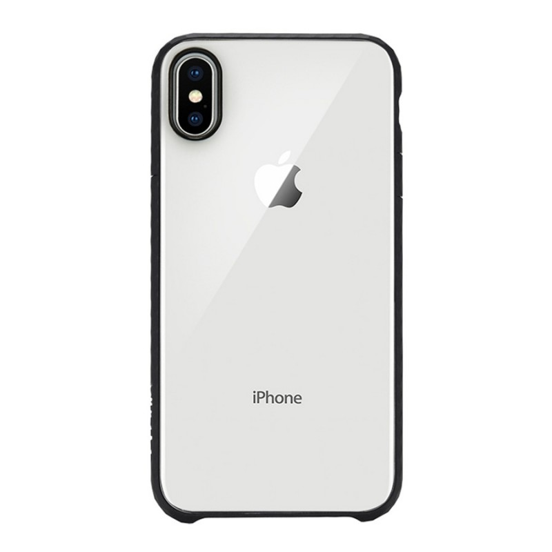 Incase Pop Case iPhone X/Xs Zwart/Transparant - 1