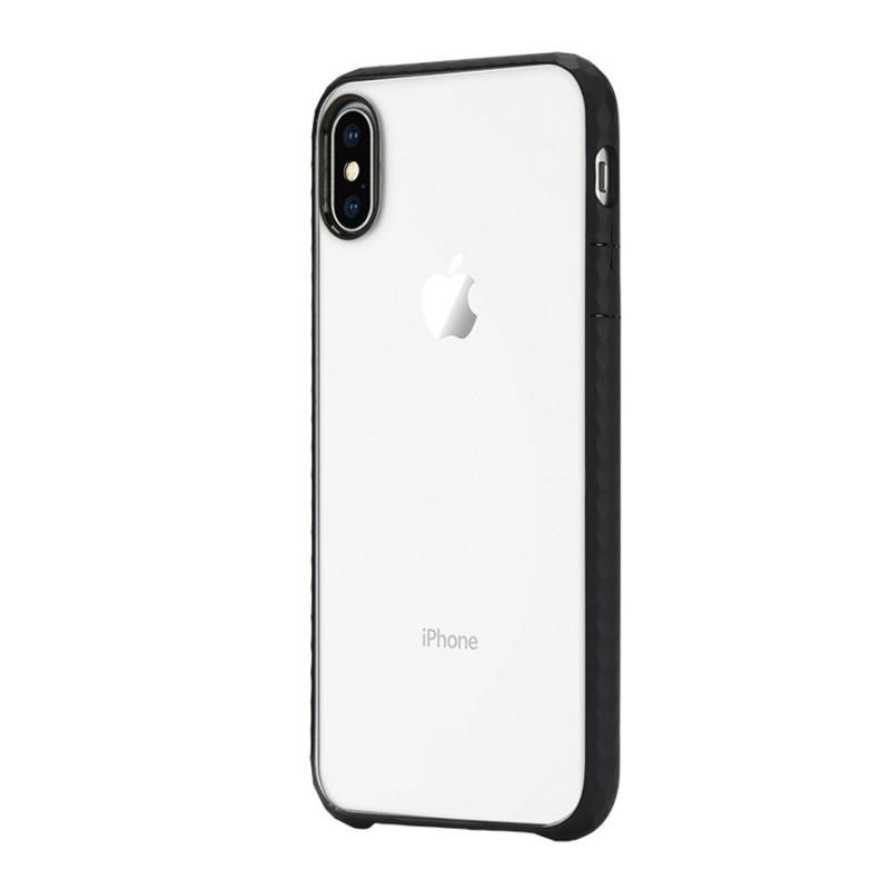 Incase Pop Case iPhone X/Xs Zwart/Transparant - 3