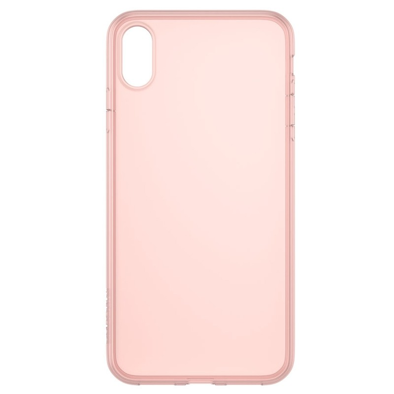 Incase - Protective Clear Cover iPhone XS Max Rose Gold 01