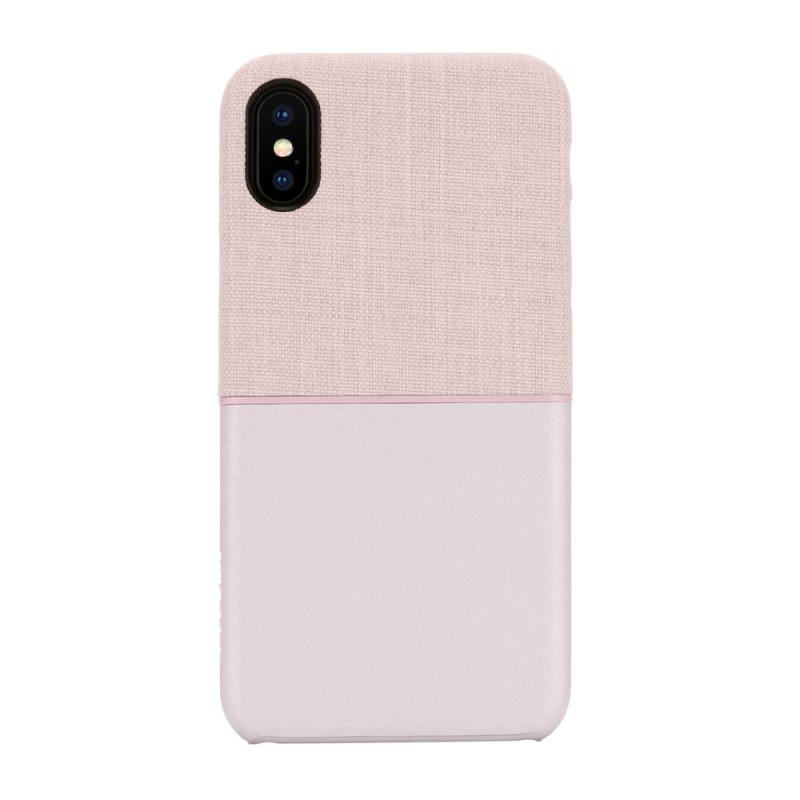 Incase Textured Snap Case iPhone X/Xs Roze - 1