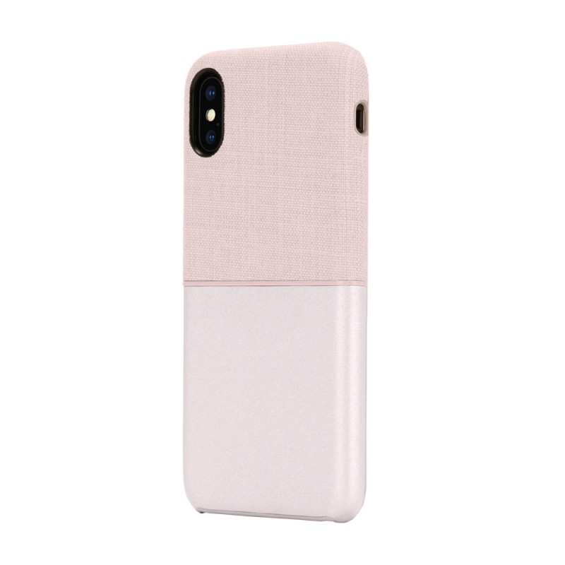 Incase Textured Snap Case iPhone X/Xs Roze - 3