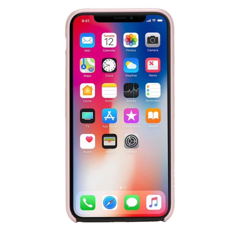 Incase Textured Snap Case iPhone X/Xs Roze - 4