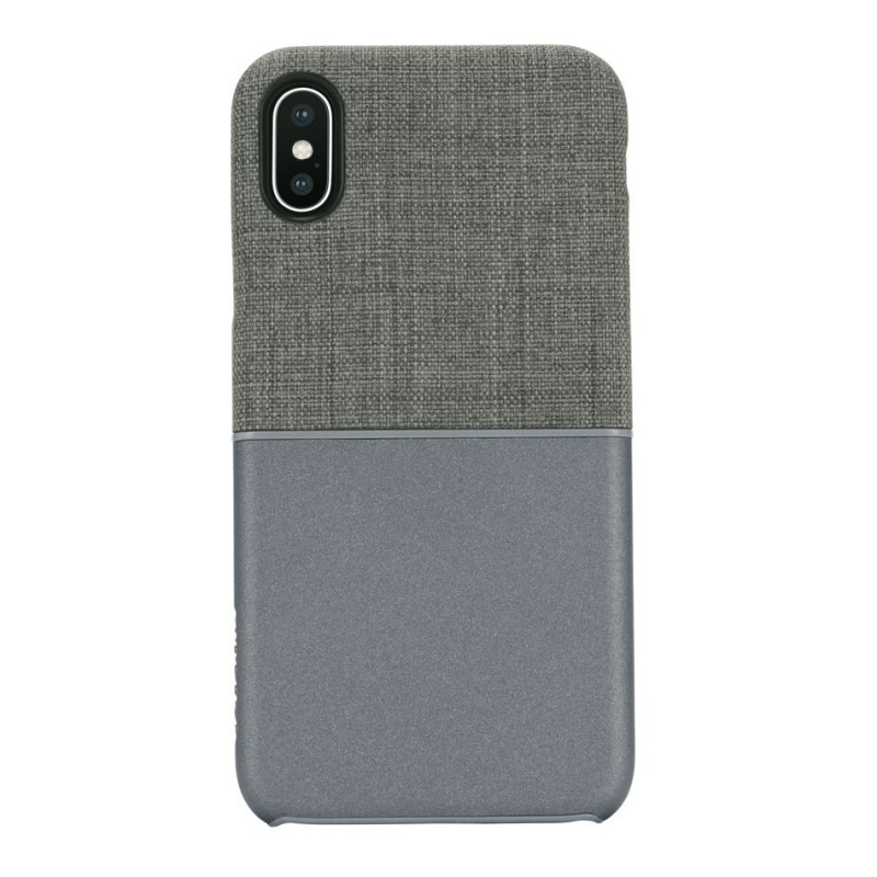 Incase Textured Snap Case iPhone X/Xs Grijs - 1
