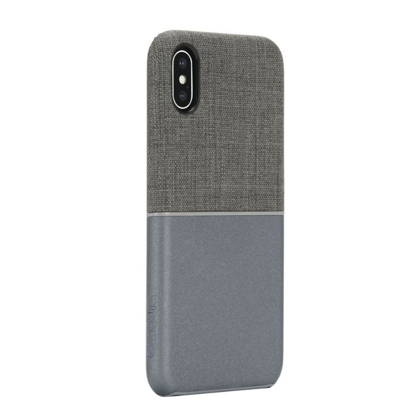 Incase Textured Snap Case iPhone X/Xs Grijs - 2