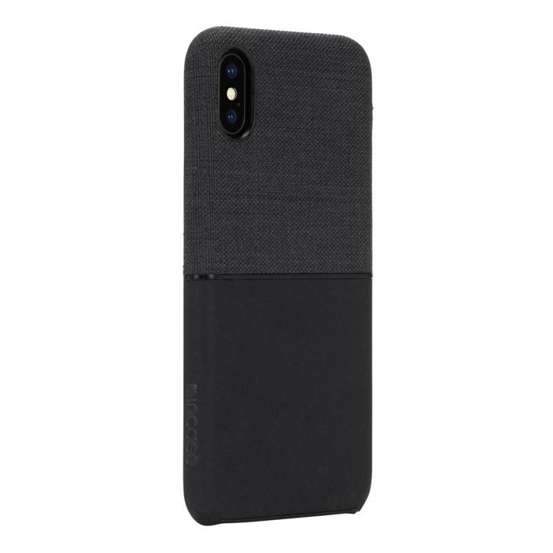 Incase Textured Snap Case iPhone X/Xs Zwart - 3
