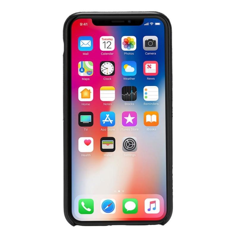 Incase Textured Snap Case iPhone X/Xs Zwart - 4