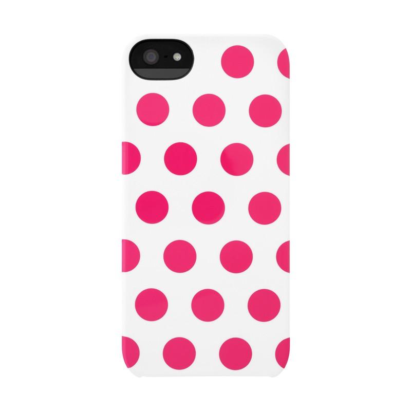 Incase Dots Snap Case iPhone 5 Raspberry - 1