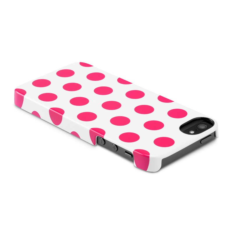 Incase Dots Snap Case iPhone 5 Raspberry - 6