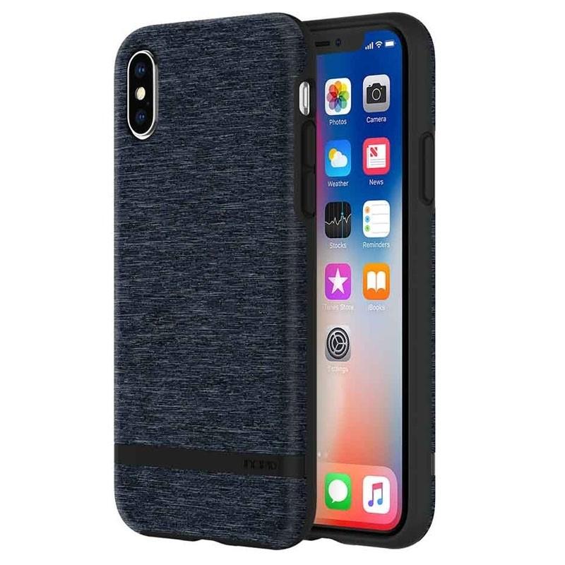 Incipio Esquire iPhone X/Xs Hoesje Blauw - 1