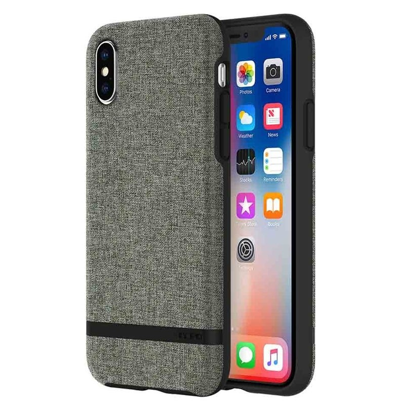 Incipio Esquire iPhone X Hoesje Forest Gray - 1