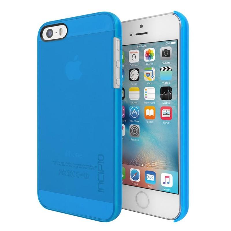 Incipio Feather Pure iPhone SE / 5S / 5 Cyan Blue - 1