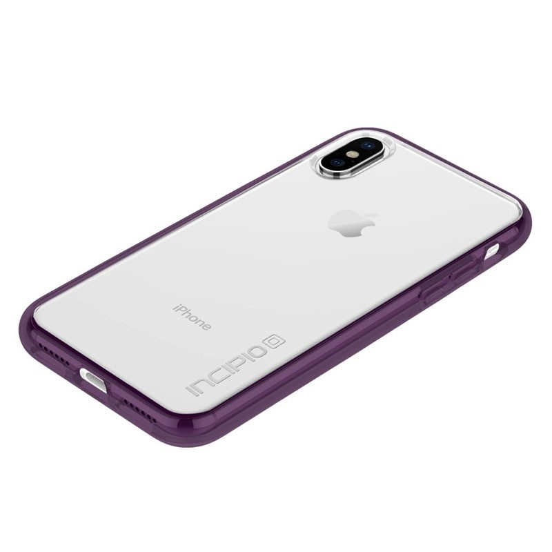 Incipio octane Pure iPhone X/Xs Plum/Clear - 3