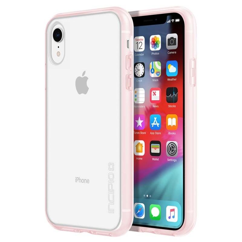Incipio Octane Pure iPhone XR Hoesje Roze Transparant 01