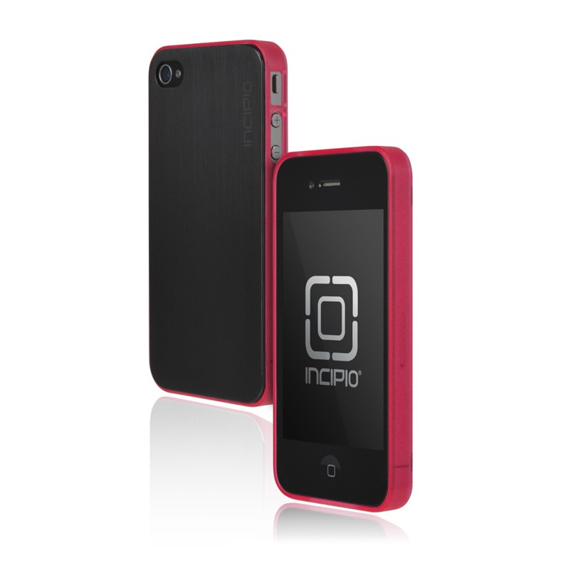 Incipio Le Deux iPhone 4(S) case black/pink 01