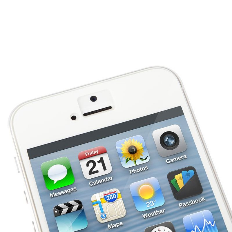 Moshi iVisor XT Glossy iPhone 5/5S/5C White - 2