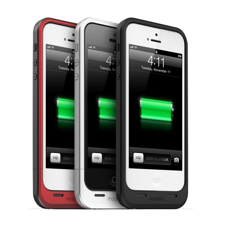 mophie juice pack air iPhone 5 white - 5