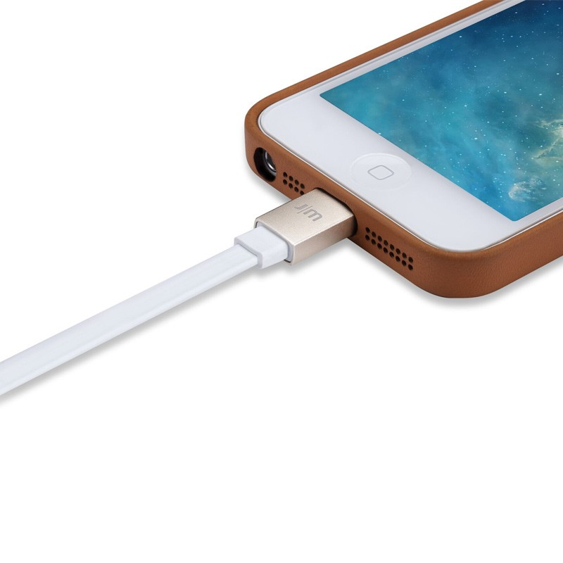 Just Mobile - AluCable Flat Lightning 1,2 meter 02